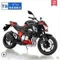 Nuevo Fresco 1/12 Escala Diecast Metal Modelo de La Motocicleta Kawasaki Z800 Súper Moto de Juguete De Regalo/de Los Cabritos/de Los Niños-el envío Gratuito