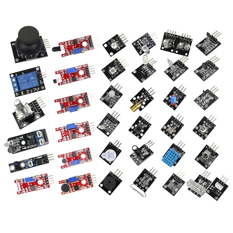 Smart Electronics 37 In 1 Sensor Modules Kit For Arduino And Mcu Education User