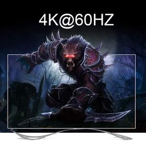 Image 2 - 2.0 HDMI מטריקס 4x2 4K @ 60Hz HDR מתג ספליטר 4 ב 2 מתוך YUV 4:4:4 אופטי SPDIF + 3.5mm שקע אודיו Extractor HDMI Switcher