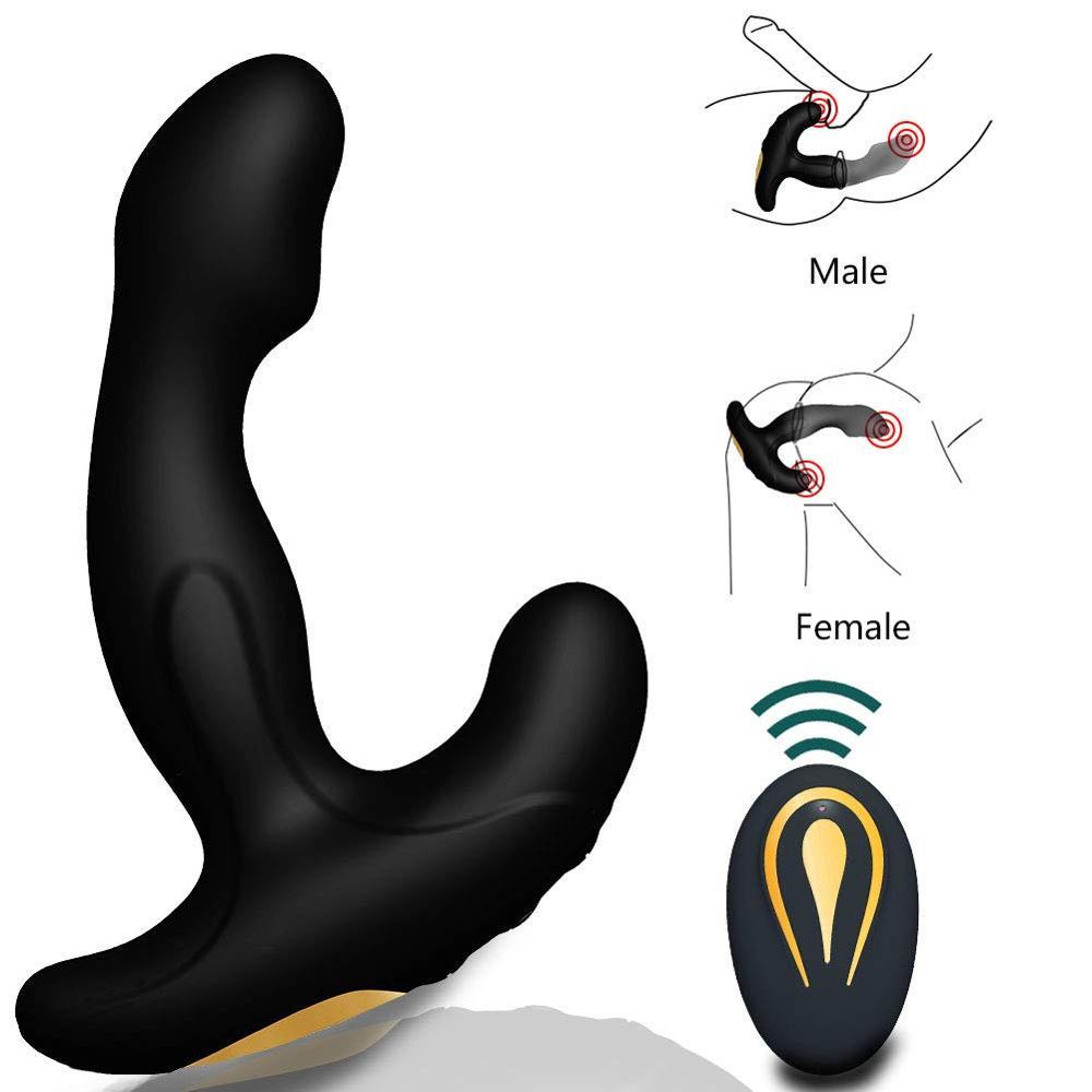 Gay Sex Toys Prostate Stimulator Vibrator Male Prostata Massager Dildo Anal Plugs Silicone Wireless Vibrator Prostate Massage