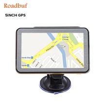 5 inch Windows CE 6.0 Vehicle GPS Navigation TFT LCD Touch Screen FM Radio Voice Guidance Multi-function Navigator Maps