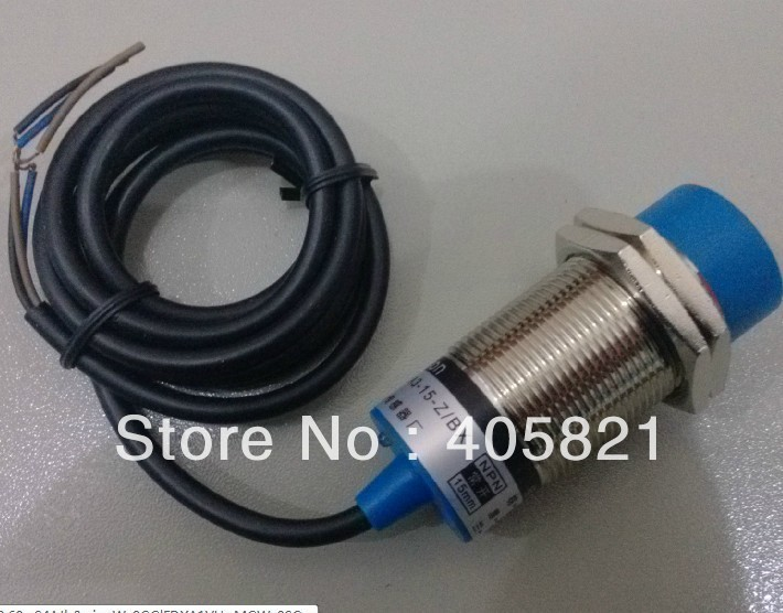 Inductive Proximity Sensor LJ30A3 15 Z AY PNP 3 wire NC Proximity Switch free shipping