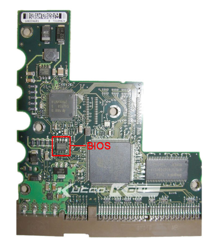 hard drive parts PCB logic board printed circuit board 100234602 for Seagate 3.5 IDE/PATA hdd data recovery hard drive repair