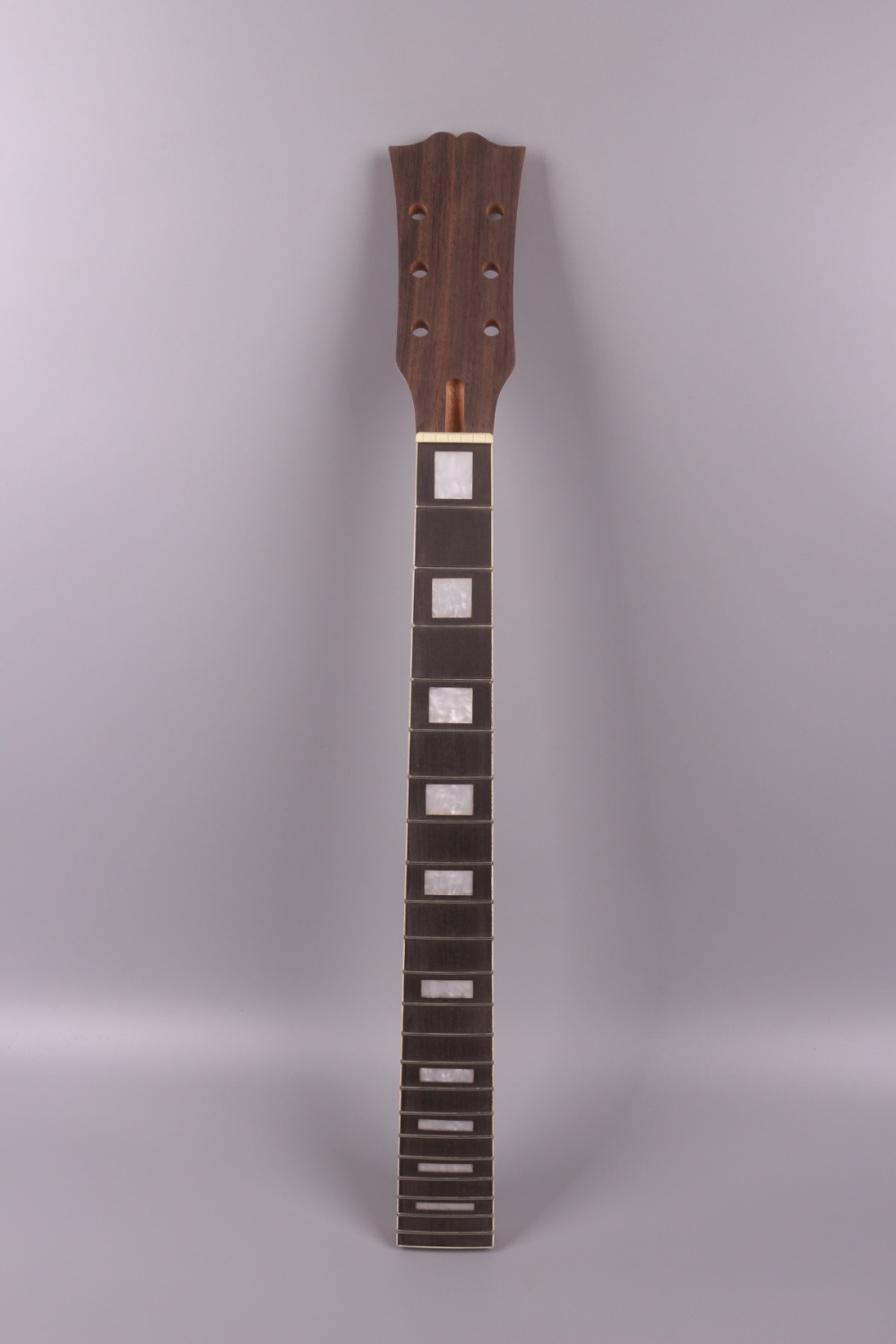 electric guitar neck 22 fret  mahogany made and rosewood fingerboard 004# black color 24 frets holt on one electric guitar neck mahogany wood and rosewood fingerboard 171