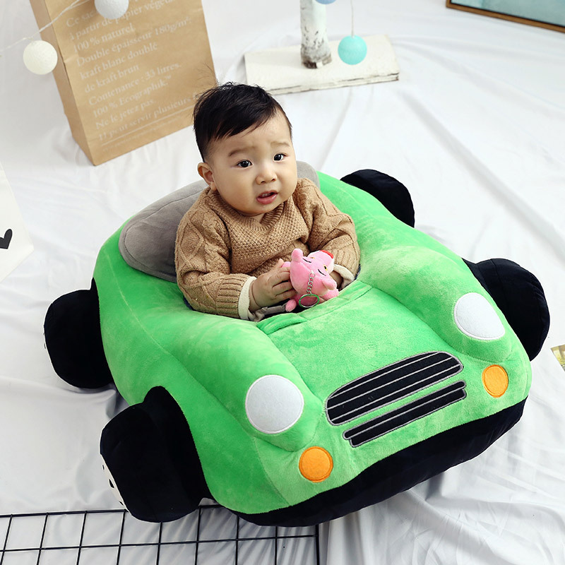 Baby Seats Sofa Baby Cartoon Animal Chair Baby Toys Car Sofa With pp Cotton Filling Material DIY Sewing Without Zipper