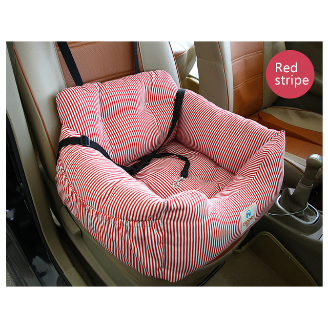 Pet Dog Carrier Sofa Seat Pad Safe Carry Cat Outdoors Traveling Puppy Dog Car Seat Waterproof Dog SUV Seat Pet Products 3 Colors 5