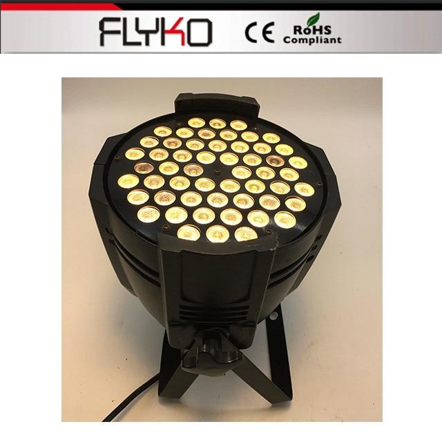Free shipping professional lighting mini projector 54*3W led par light DMX512