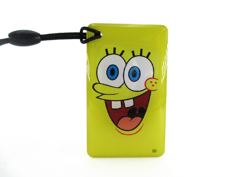 5pcs/lot Cartoon Spongebob Squarepants Em4305 125khz Rfid Writable Rewrite Proximity Id Token Tag Key Keyfobs Blank Card Cheapest Price From Our Site Security & Protection Access Control