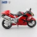 1:12 Масштаб дети сокол Suzuki GSX 1300R мотоцикла Сплава Литья Под Давлением модели металлические мотоцикл гоночный автомобиль игрушки подарок для коллекционирования мальчик