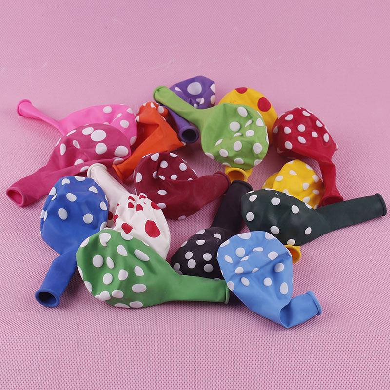 globos de ltex unidslote pulgadas polkadot globo decoracin de la