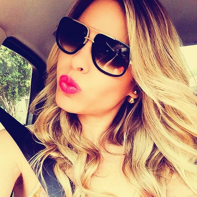 39ee150c4857 2017 Fashion Mens Sunglasses Vintage Mirror Oversized Metal Frame Sunglasses  Women Brand Designer Driving Square Sunglass UV400