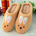 Houmian Warm Slippers Winter Package With Plush Rabbit Lovers Dragged Lower Half Of The Sugar Indoor CS9305