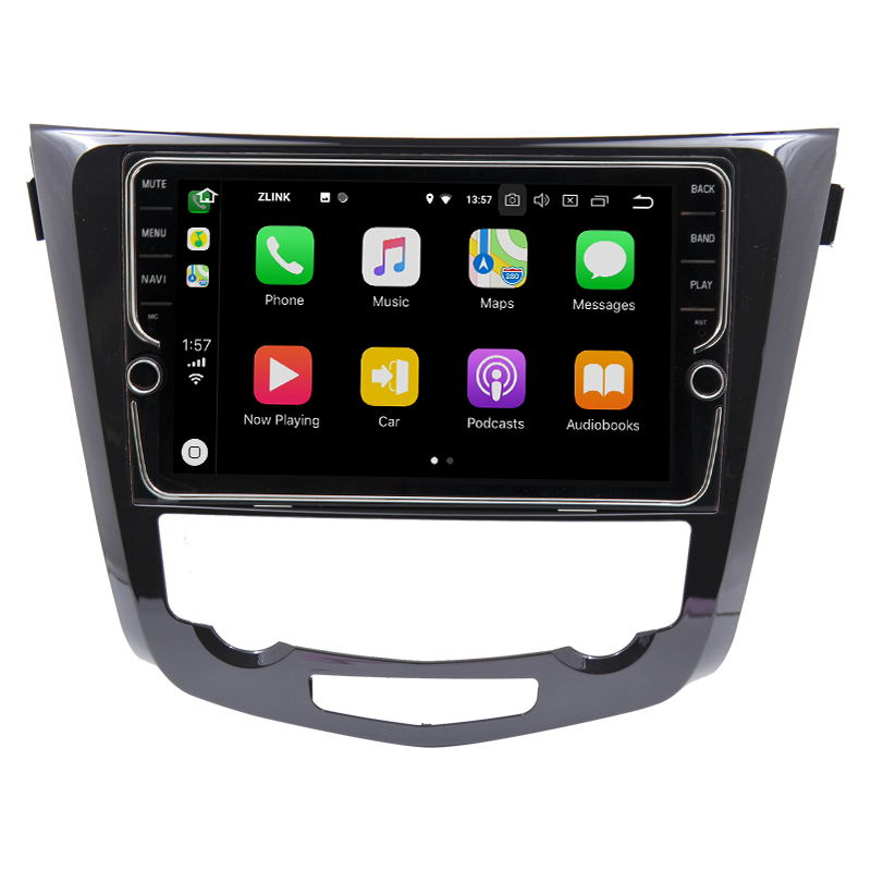 10.1 Android 8.1 2.5D G+G Capacitive Touch Screen Car Navigation GPS Player For Nissan Qashqai 2013 2017 Car Radio Audio Stereo