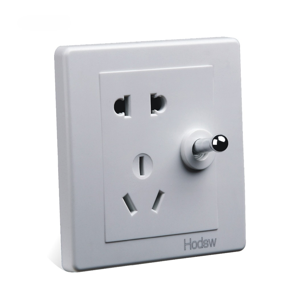 ᐊHome Improvement Wall Switch Socket, 86 Types Of Dark White Retro ...