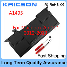 New Battery A1495 Battery For Macbook Air 11″ A1370 2011 A1465 2012 2013 A1406 with Two Free Screwdrivers