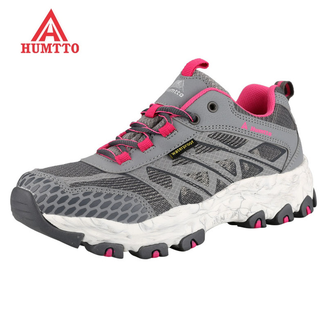 Sneakers Size Climbing Summer Shoes Breathable Womens Sport Lace Boots Running