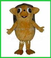 Maskottchen Schöne Kleine Wilde Braun Hedgehog Maskottchen Kostüm Erwachsene Größe Tier Cartoon Charakter Cosply Kostüm Karnevalskostüm