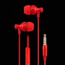 qijiagu 50PCS High Quality Fresh Version colorful Earphones In-ear headset with Mic For Mobile Phone for MP4 MP3 PC ect. стоимость