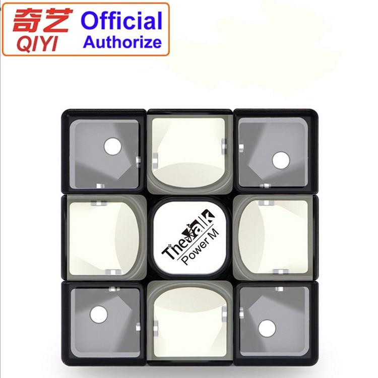 Qiyi Valk 3 Power M 3x3x3 Magic Cube Puzzle Mofanfge Valk3 Magnetic Cube 3x3 Speed Cube Professional Educational Toy Game QY111 qiyi mofangge valk3 power m magnetic 3x3x3 speed magic cube for wca professional toys for children valk 3 puzzle cube