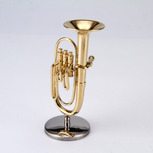 mini Baritone Music Instrument Ornament model music Music hobby Collection Gift