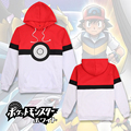 Pokemon Go Pikachu Hoodie Hoody Cosplay Costume girls Clothes boys Sweatshirts mens clothing Outwear Cartoon Tops
