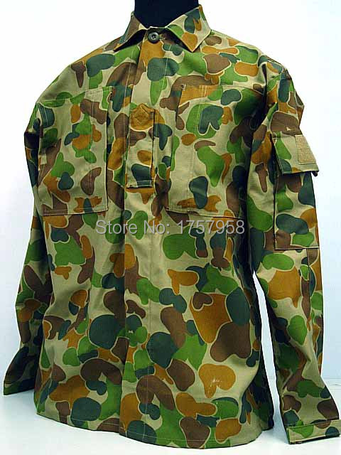 купить US Army Australian Woodland Camo ACU style Uniform Set Tactical Combat Uniform set For Tactical Gear по цене 3671.19 рублей