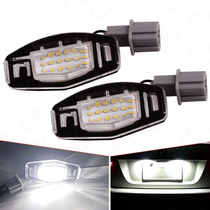Aliexpress.com : Buy 2Pcs 18 LED License Plate Lights