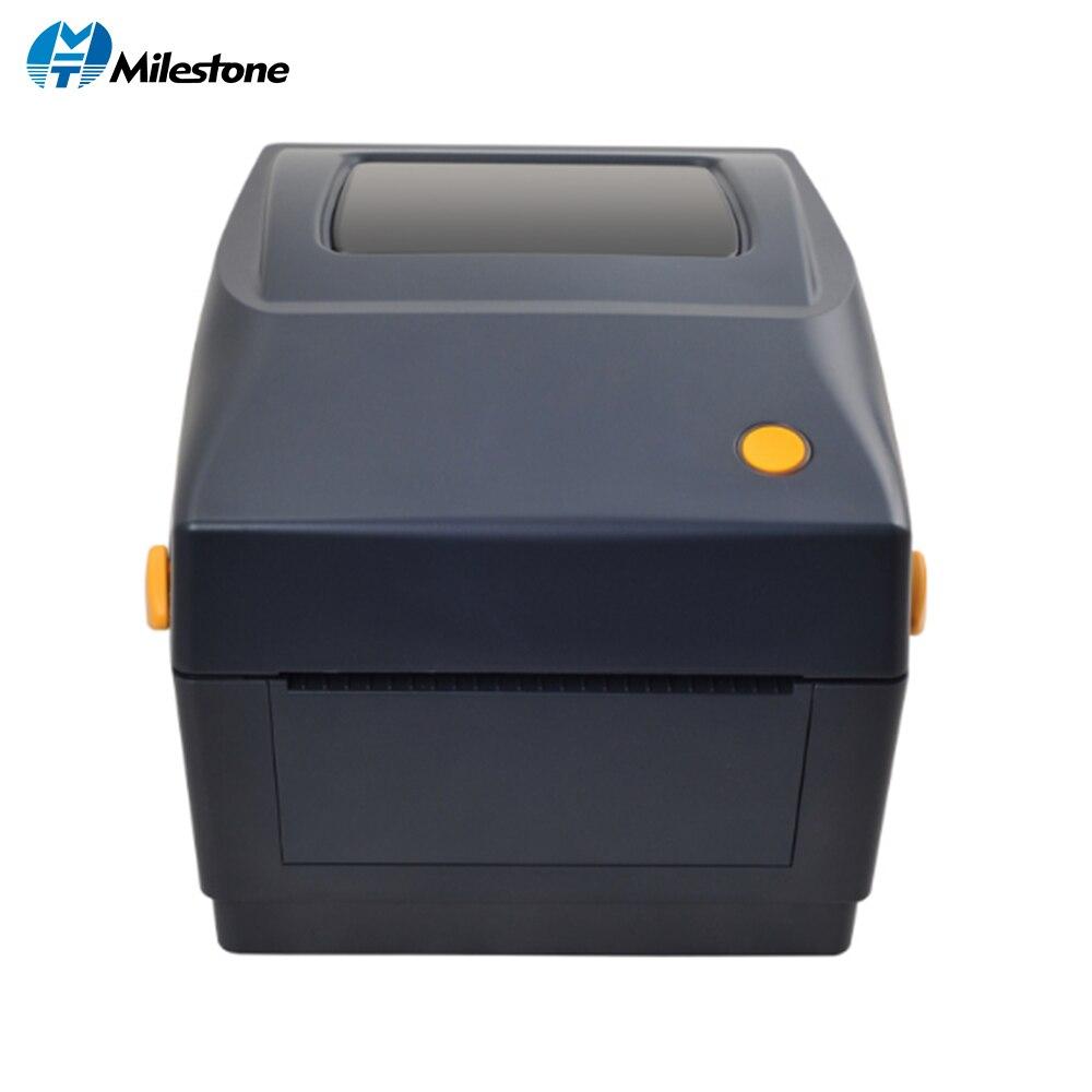 Imprimante d'étiquettes thermiques 20mm à 108mm imprimante de codes à barres thermique pour les produits d'entrepôt collectés
