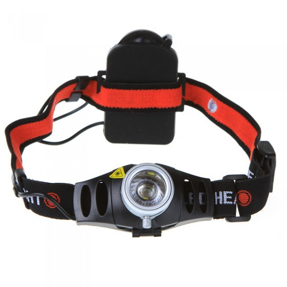 1200lm impermeable XM-L Q5 2 modos de brillo LED AAA faro faro cabeza lámpara luz para deporte al aire libre