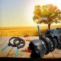 Камеры Аксессуары Регулируемые Резиновые Следуйте Фокус Зубчатого Венца Пояс с Алюминиевого Сплава Ручка для DSLR Видеокамера