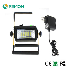 Mini Portable LED Floodlight Rechargeable Work Flood Light Camping Lamp Waterproof IP65 No include 4*18650 Battery