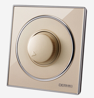 Glass Panel Dimmer Switch And 150W Home Use Light Dimmer Switch Brightness Adjustable Controller Knob Switch