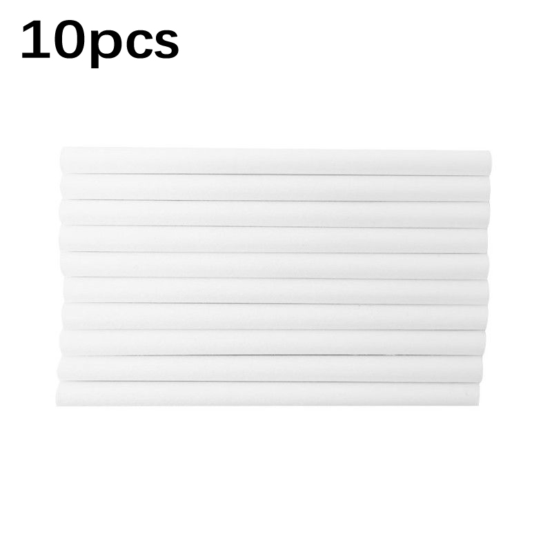 10pcs/Set Replacement Purifying Filter Cotton Sticks Humidifier Diffuse Sponges Air Conditioning Appliance Parts