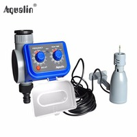 Analog Electronic Water Timer For 3 4 Inches Faucet Hose Battery Operated And Rain Sensor 21003R