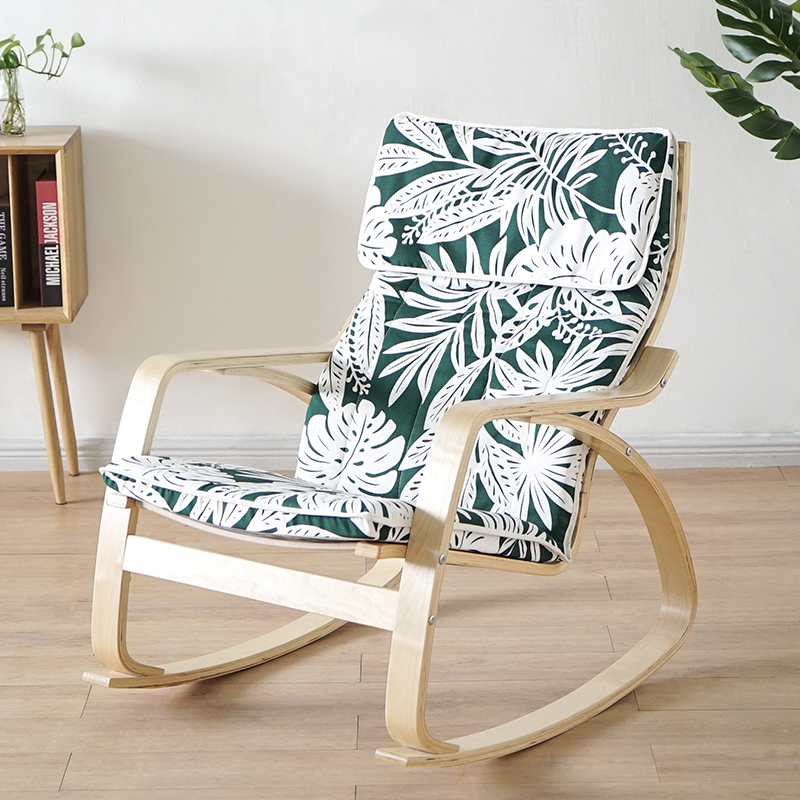 Pleasing Nordic Rocking Chair Lazy Couch Balcony Chair Lounge Chair Pregnant Woman Recliner Adult Home Arm Chair Creativecarmelina Interior Chair Design Creativecarmelinacom