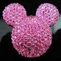 200 pçs/lote 3x3.5 cm jóias de resina cabeça MICKEY forma gems prego celular laptop arte dezembro.
