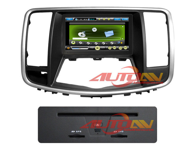 In-dash 1 din GPS Navigation Stereo Car DVD Player For Nissan Teana 2009-2011 With Radio TV Bluetooth Picture in Picture