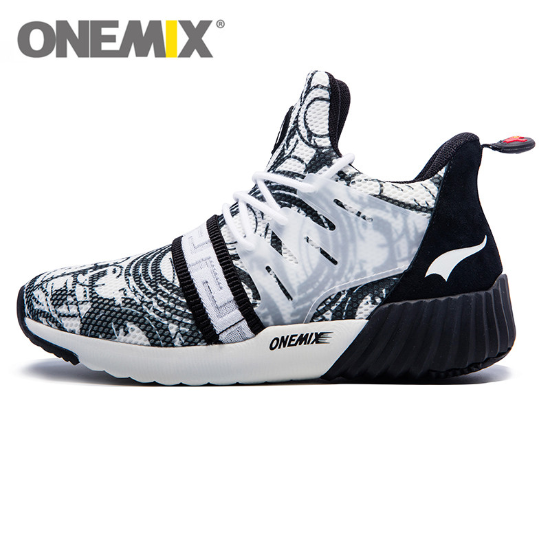 ONEMIX Impression Style Running Shoes Air Mesh Men Sneakers Lightweight High Quality Popular Trend Walking ShoesONEMIX Impression Style Running Shoes Air Mesh Men Sneakers Lightweight High Quality Popular Trend Walking Shoes