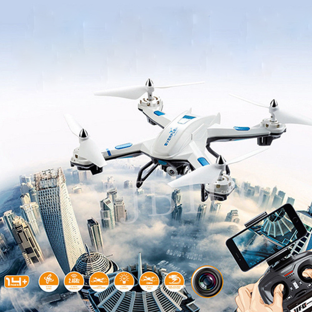 Hiinst S5 2.4GHz 4CH 6 Axis RC Quadcopter With 2MP WIFI HD Camera High Quality Warrior Drone Quadcopter Remote Control Drone Toy агхора 2 кундалини 4 издание роберт свобода isbn 978 5 903851 83 6
