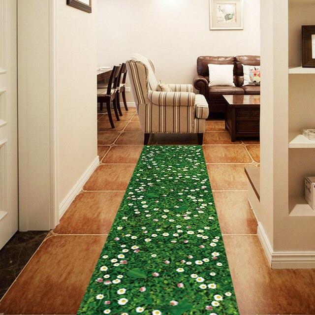 3D Boden Tapete HD Foto Wall Paper Grünes Wiese Aufkleber für ...