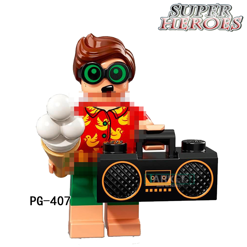 PG407 Robin Clock King DC Marvel Super Hero Single Sale Building Blocks Action Bricks Toys PG8106 Children Gift Toys Hobbies
