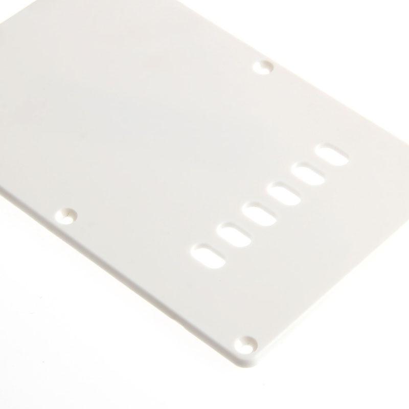 Белый задней пластины тремоло Трем Обложка для Fender Stratocaster Strat Запчасти Новый