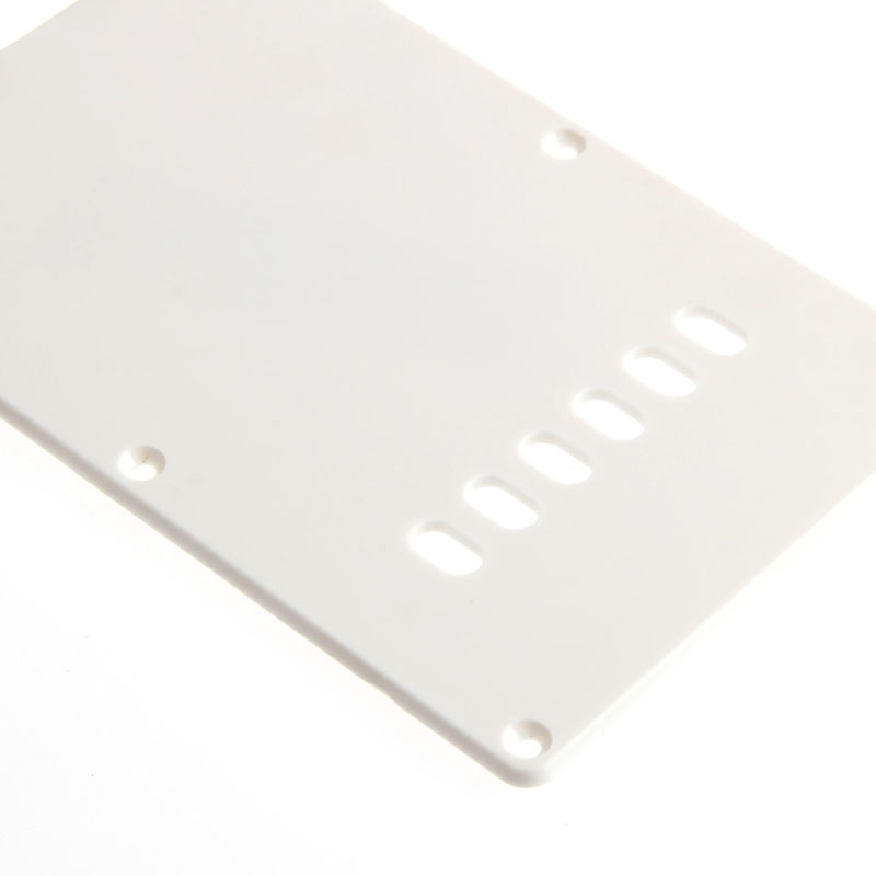 White Back Plate Tremolo Trem Cover For Fender Stratocaster Strat Parts New