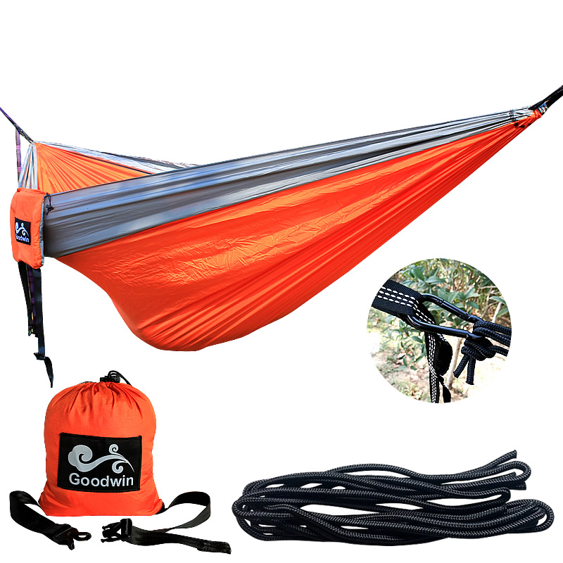 Portable Outdoor Hammock Garden Camping Sports Home Travel garden Hang Bed Double Person Leisure travel Parachute Hammocks 2017 2 people hammock camping survival garden hunting travel double person portable parachute outdoor furniture sleeping bag