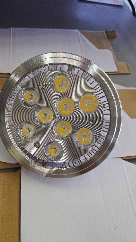 AR111 9w G53 led fazole žárové osvětlení Bridgelux ledová lampa - LED Osvětlení