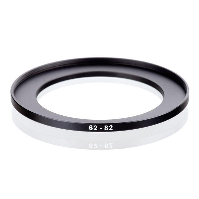 original RISE(UK) 62mm 82mm 62 82mm 62 to 82 Step Up Ring Filter Adapter black