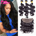 Ms Lula Hair With Closure And Bundles Ear To Ear Lace Frontal Closure With Bundles 3 Bundles Brazilian Body Wave With Closure