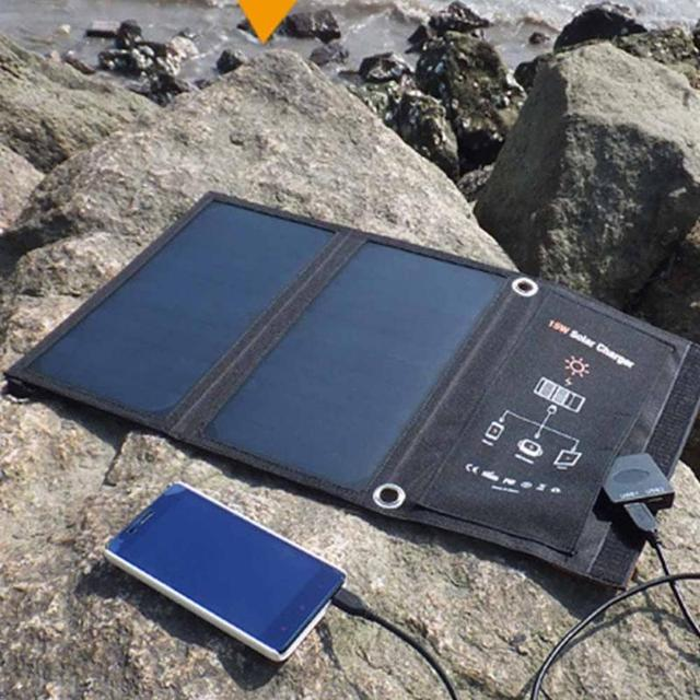 Solar Power Charging Battery