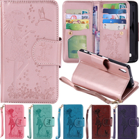 Luxury Case For Sony Xperia X Performance Cover 9 Card Slot Leather Wallet Case For Sony