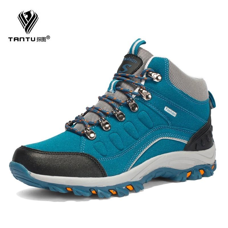 TANTU Men/women Work Boots Soft Comfortable Safety Shoes Non-slip Women Waterproof Work Shoes Mens Walking Casual Boots